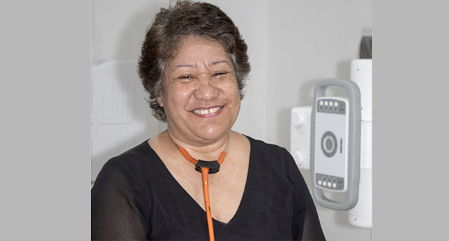Dr 'Ana 'Akau'ola. Photo: ADB (Source: Matangi Tonga Online)